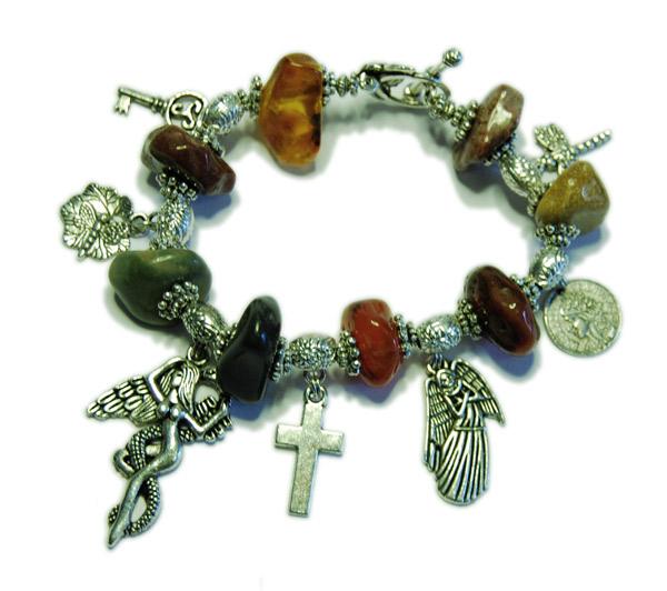 Get your rocks on berlockarmband silver och smycken