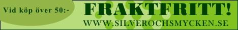 Fraktfritt på smycken och smyckematerial hos Silver och Smycken